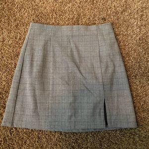 Forever 21 light plaid mini skirt